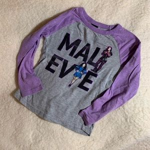 Disney Descendants Mal and Evie Baseball Tee